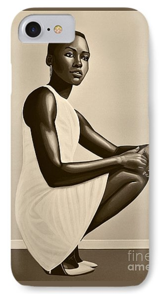 Lupita Nyong'o IPhone Case
