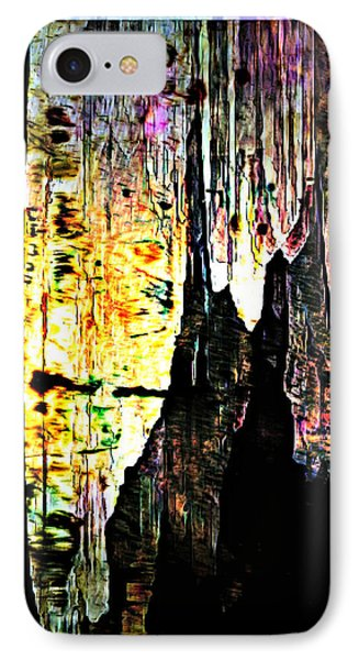 Luray Cavern Abstract 2 IPhone Case by Lynda Payton