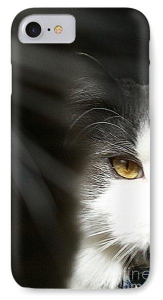 Lurking In The Shadows  IPhone Case by Scott D Van Osdol