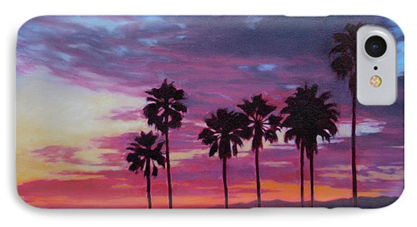 IPhone Case featuring the painting Lush by Andrew Danielsen