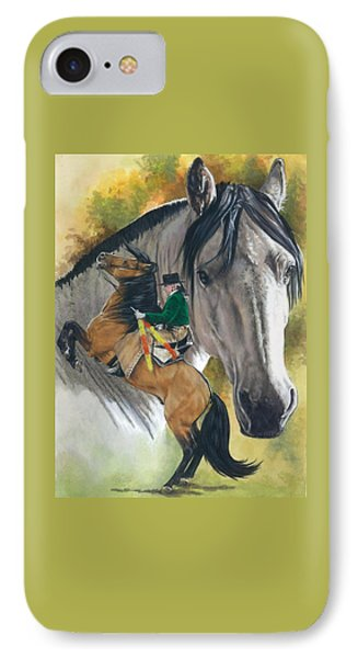 IPhone Case featuring the painting Lusitano by Barbara Keith
