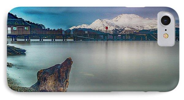 Luss Pier, Loch Lomond IPhone Case