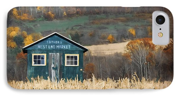 Luther's West End Market IPhone Case by Lori Deiter
