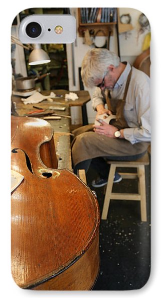 Luthier 3 IPhone Case by Andrew Fare