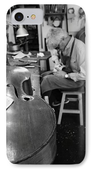 Luthier 3b IPhone Case by Andrew Fare
