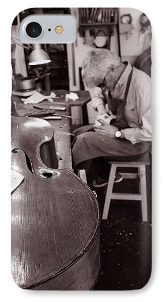 Luthier 3c IPhone Case by Andrew Fare