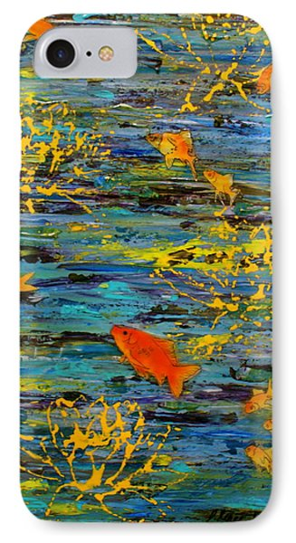 IPhone Case featuring the painting Lux by D Renee Wilson