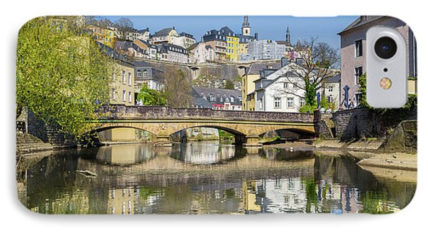 Luxembourg City IPhone Case by JR Photography