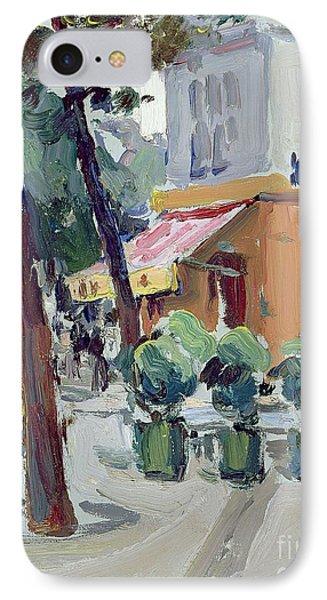 Luxembourg Gardens IPhone Case by Samuel John Peploe