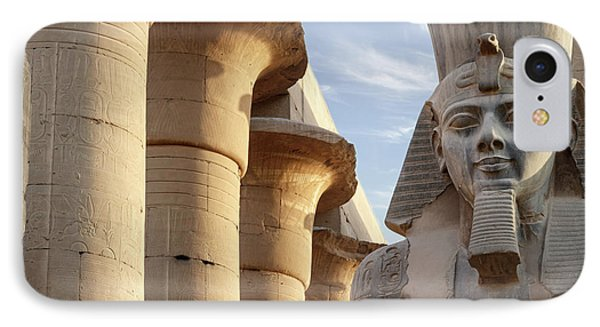 IPhone Case featuring the photograph Luxor by Silvia Bruno
