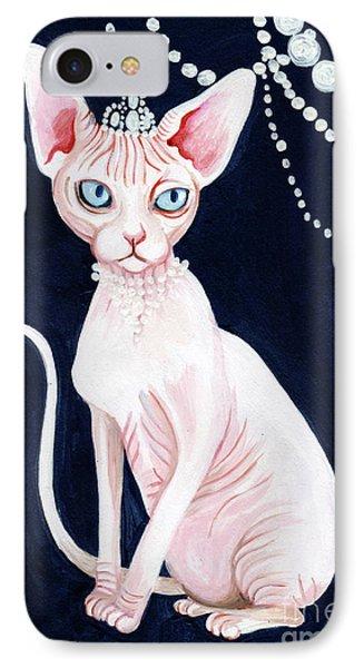 Luxurious Sphynx IPhone Case by Akiko Okabe