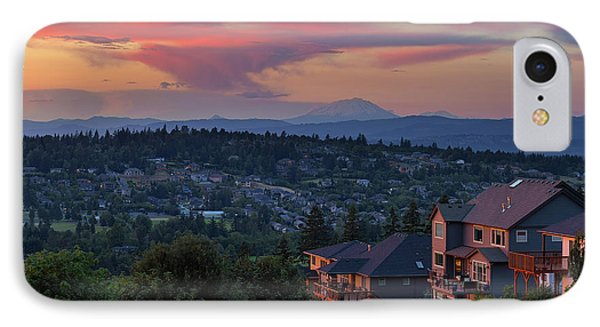 Luxury Homes In Happy Valley Oregon Phone Case by David Gn