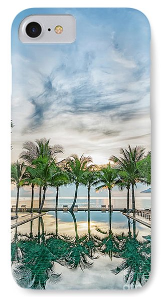 IPhone Case featuring the photograph Luxury Pool In Paradise by Antony McAulay