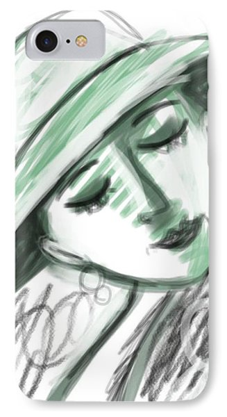 Lydia IPhone Case by Elaine Lanoue