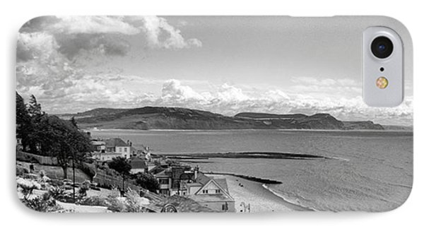 Lyme Regis And Lyme Bay, Dorset Phone Case by John Edwards