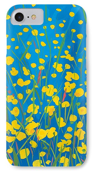 Lympstone Buttercups IPhone Case by Sarah Gillard