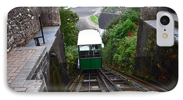 Lynton And Lynmouth Cliff Railway IPhone Case by Nichola Denny