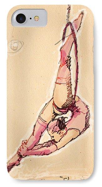Lyra In Pink IPhone Case by H James Hoff