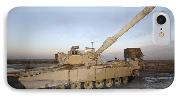 M1 Abrams Tank At Camp Warhorse IPhone Case