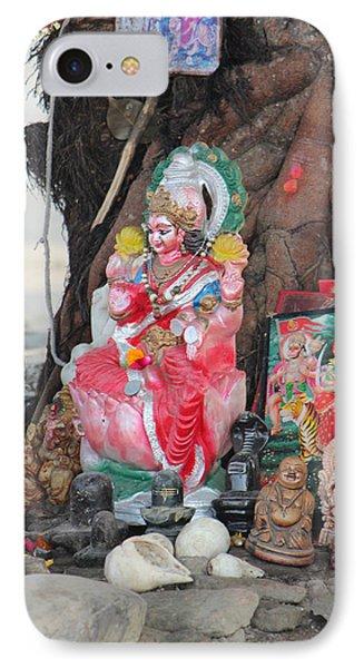 Ma Durga Tree Temple, Haridwar IPhone Case