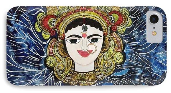 Maa Durga IPhone Case