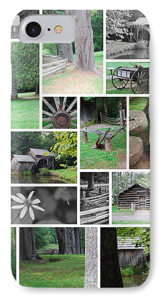 Mabry Mill IPhone Case by Eric Liller