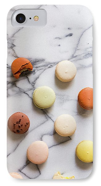 Macaron Pattern IPhone Case by Happy Home Artistry