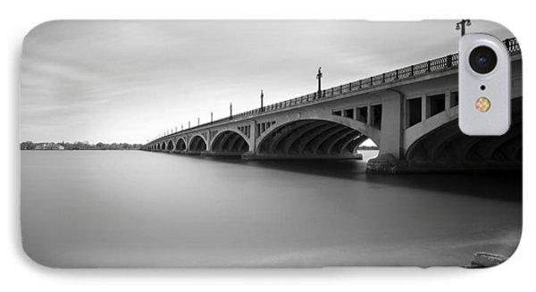 Macarthur Bridge To Belle Isle Detroit Michigan Phone Case by Gordon Dean II