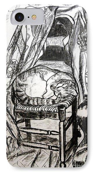 Macavity IPhone Case by Jane Gatward