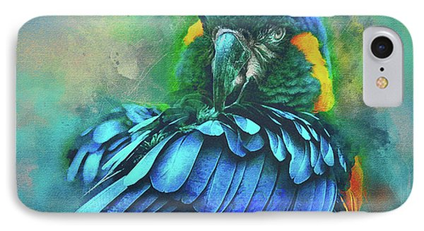 Macaw Magic IPhone Case by Brian Tarr