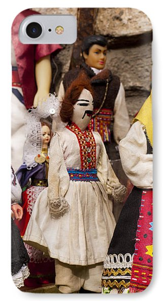 Macedonian Dolls Phone Case by Rae Tucker