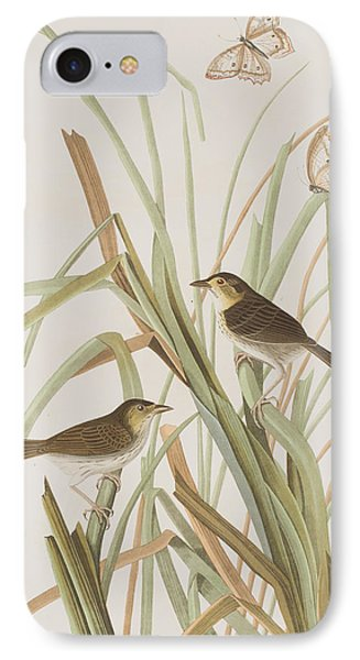Macgillivray's Finch  IPhone Case by John James Audubon