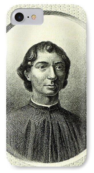 Machiavelli  IPhone Case by Italian School