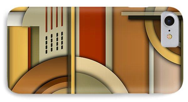 Machine Age IPhone Case by Tara Hutton
