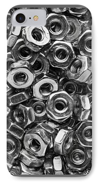 Machine Screw Nuts Macro Vertical IPhone Case