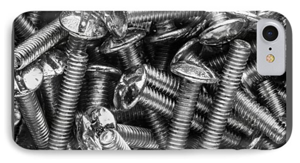 Machine Screws Macro Still Life IPhone Case