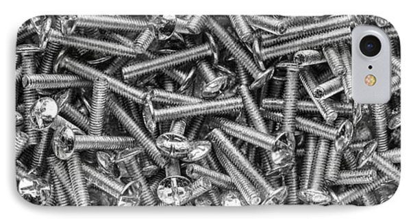 Machine Screws Still Life IPhone Case