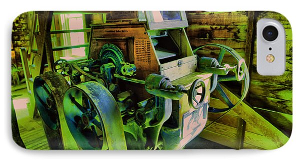Machinery In An Old Grist Mill IPhone Case