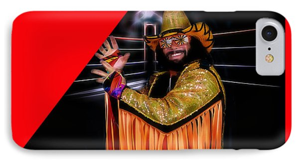Macho Man Randy Savage Collection IPhone Case by Marvin Blaine