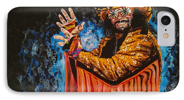 Macho Man Randy Savage IPhone Case by Joel Tesch