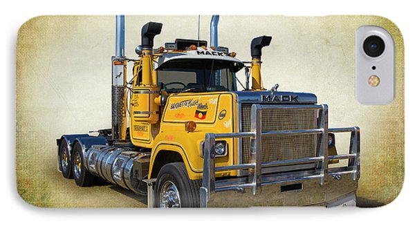Mack Truck IPhone Case by Keith Hawley