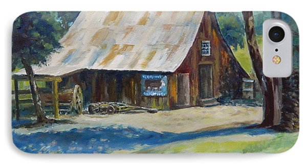 Mackey's Barn IPhone Case by William Reed