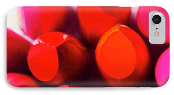 IPhone Case featuring the photograph Macro Cosmetic Art by Jorgo Photography - Wall Art Gallery