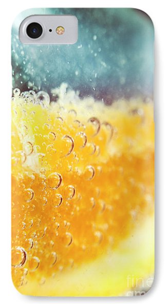 Macro Detail On A Club Orange Cocktail IPhone Case by Jorgo Photography - Wall Art Gallery