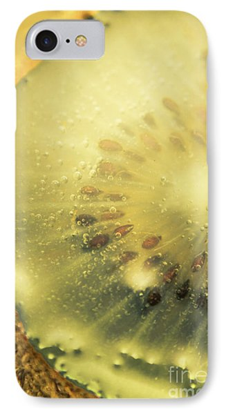 Macro Shot Of Submerged Kiwi Fruit IPhone 7 Case