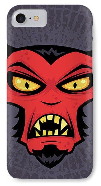 Mad Devil Phone Case by John Schwegel