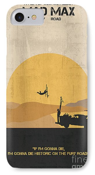 Mad Max - Fury Road Poster IPhone Case by  Adam Asar