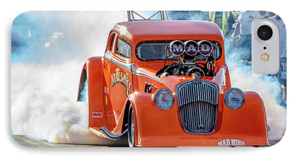 Mad Mike Racing IPhone Case by Bill Gallagher