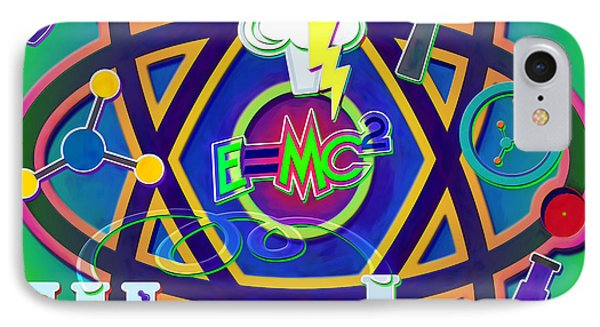 Mad Science Collage IPhone Case