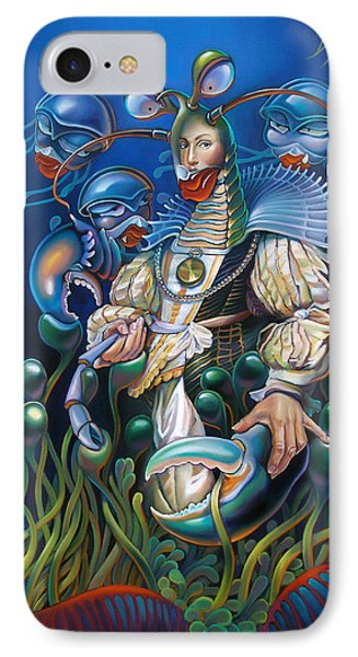 Madame Clawdia D'bouclier From Mask Of The Ancient Mariner IPhone Case by Patrick Anthony Pierson
